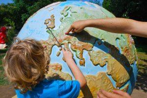 Bild Lernen mit Globus CC0 via pixabay.com